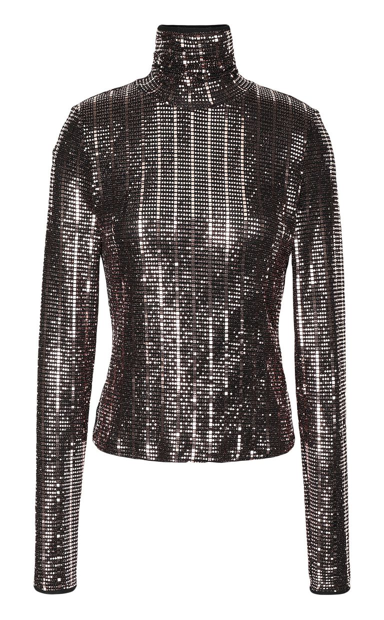 JUST CAVALLI Spangled top Top Woman f