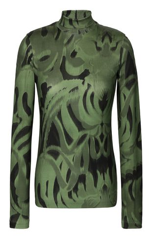 "JUST CAVALLI Top Woman ""Jungle-Deco'""-print top f"