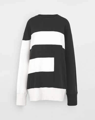 MM6 MAISON MARGIELA 'E' sweatshirt Sweatshirt Woman f