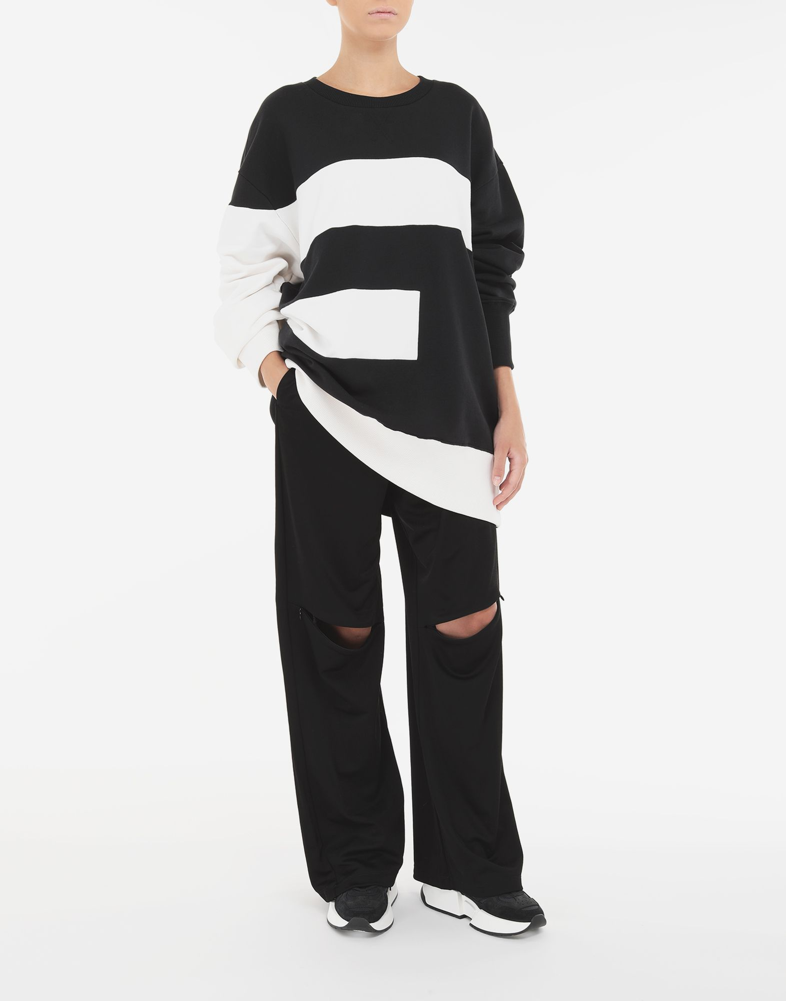 MM6 MAISON MARGIELA 'E' sweatshirt Sweatshirt Woman d