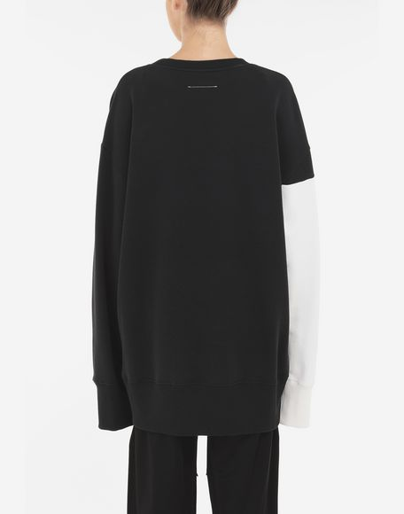 MM6 MAISON MARGIELA 'E' sweatshirt Sweatshirt Woman e