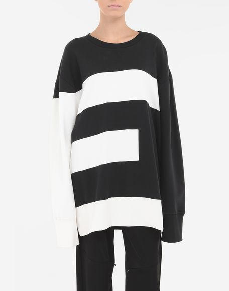 MM6 MAISON MARGIELA 'E' sweatshirt Sweatshirt Woman r