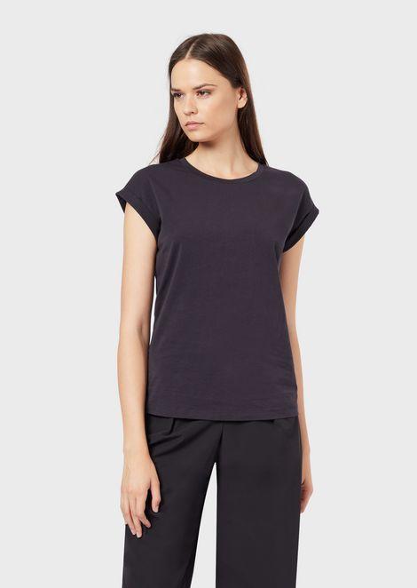 Mercerised jersey T-shirt