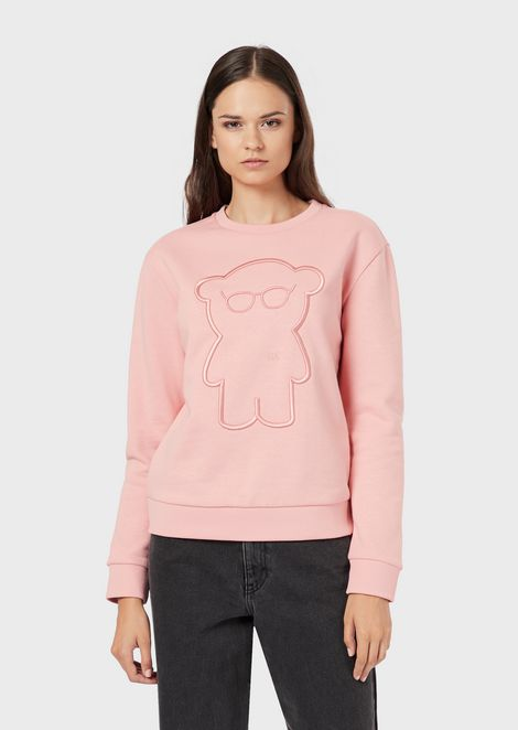 Sweatshirt with Manga Bear embroidery