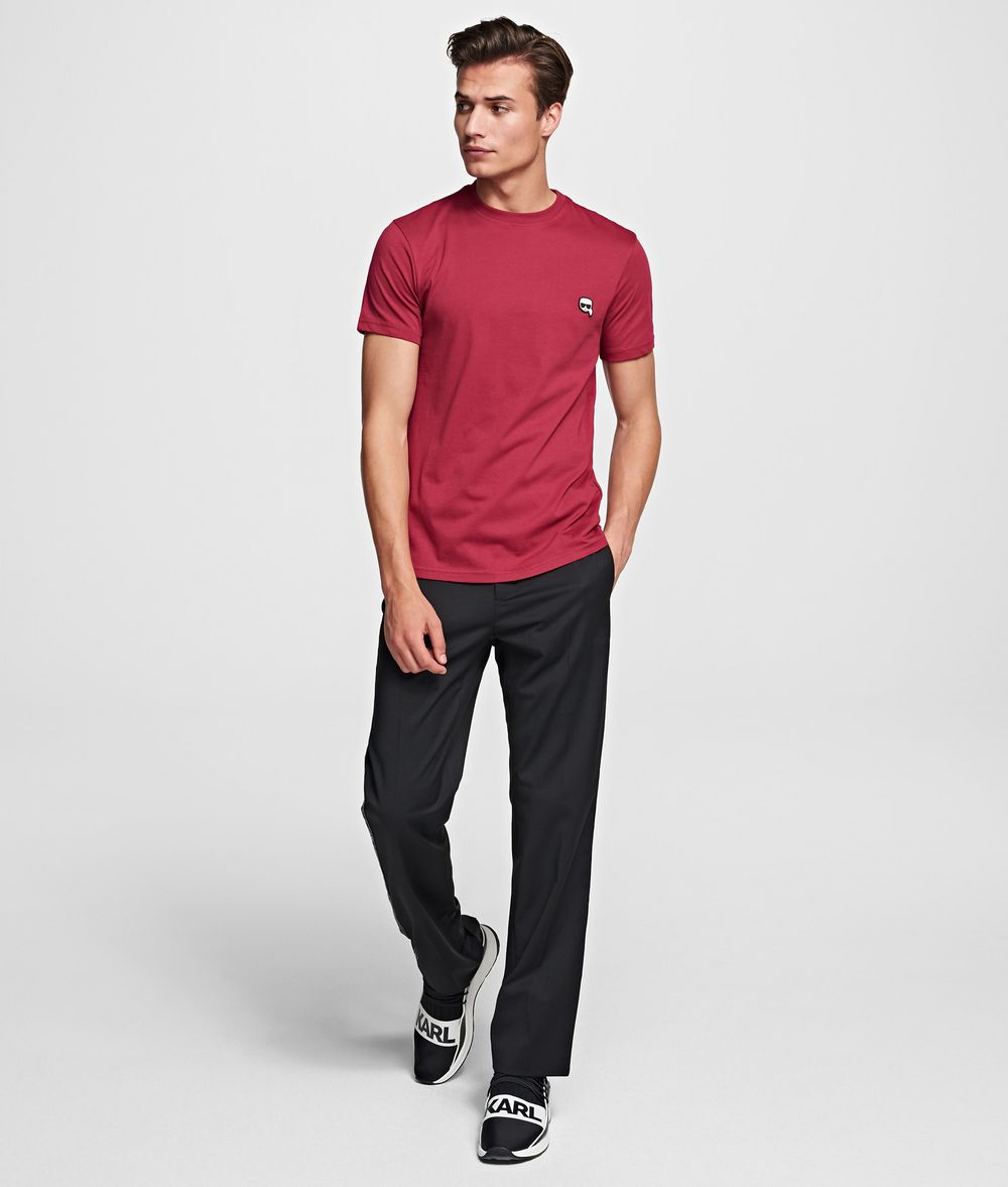 KARL LAGERFELD T-shirt à écusson K/Ikonik T-shirt Homme f