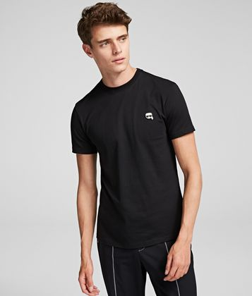 KARL LAGERFELD K/IKONIK PATCH T-SHIRT