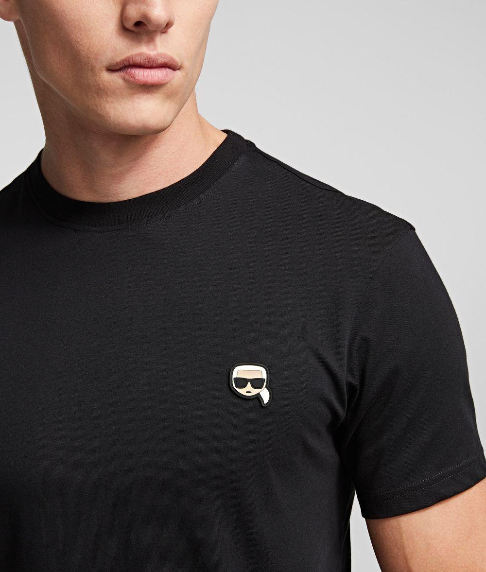 KARL LAGERFELD K/Ikonik Patch T-Shirt T-shirt Man r