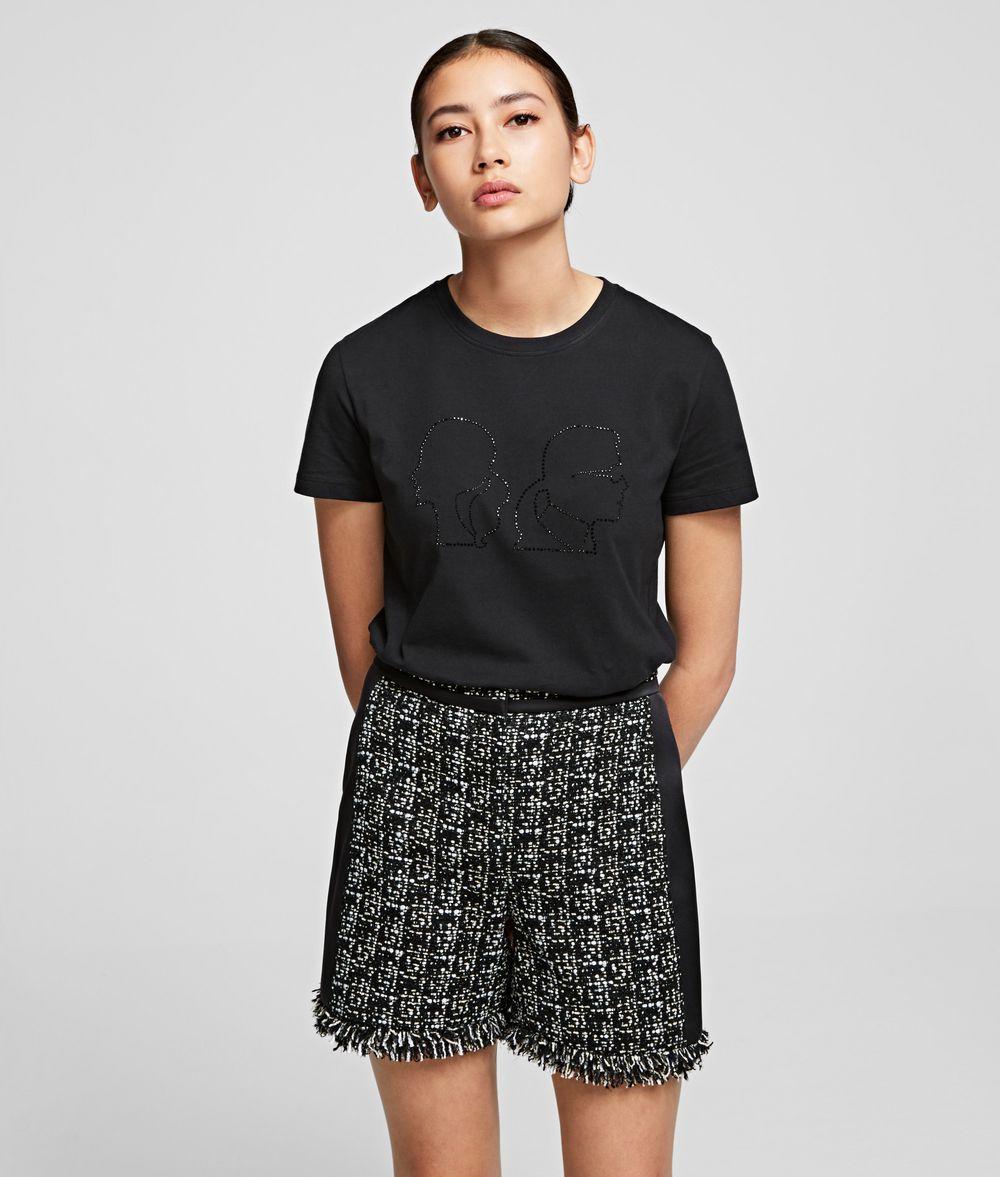 KARL LAGERFELD Karl x Olivia Profile T-Shirt T-shirt Woman f