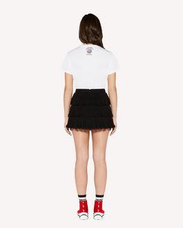 REDValentino Heart's tale printed  t-shirt