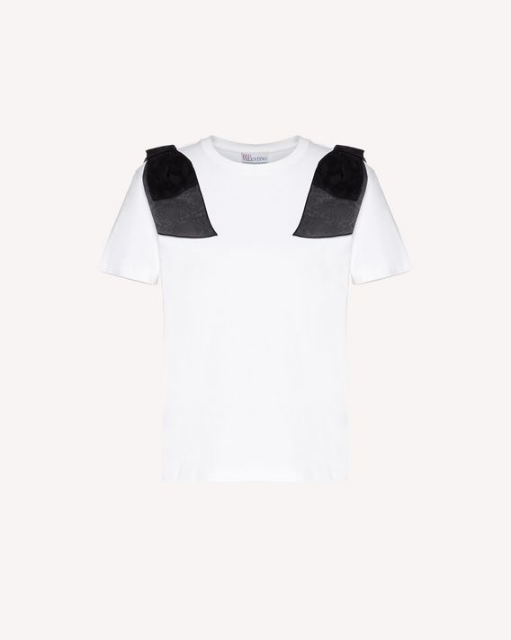REDValentino T-shirt with bow detail