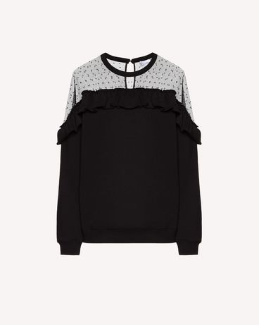 REDValentino SR3MF01P4FU 0NO Sweatshirt Woman a