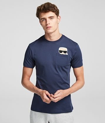KARL LAGERFELD K/IKONIK POCKET T-SHIRT