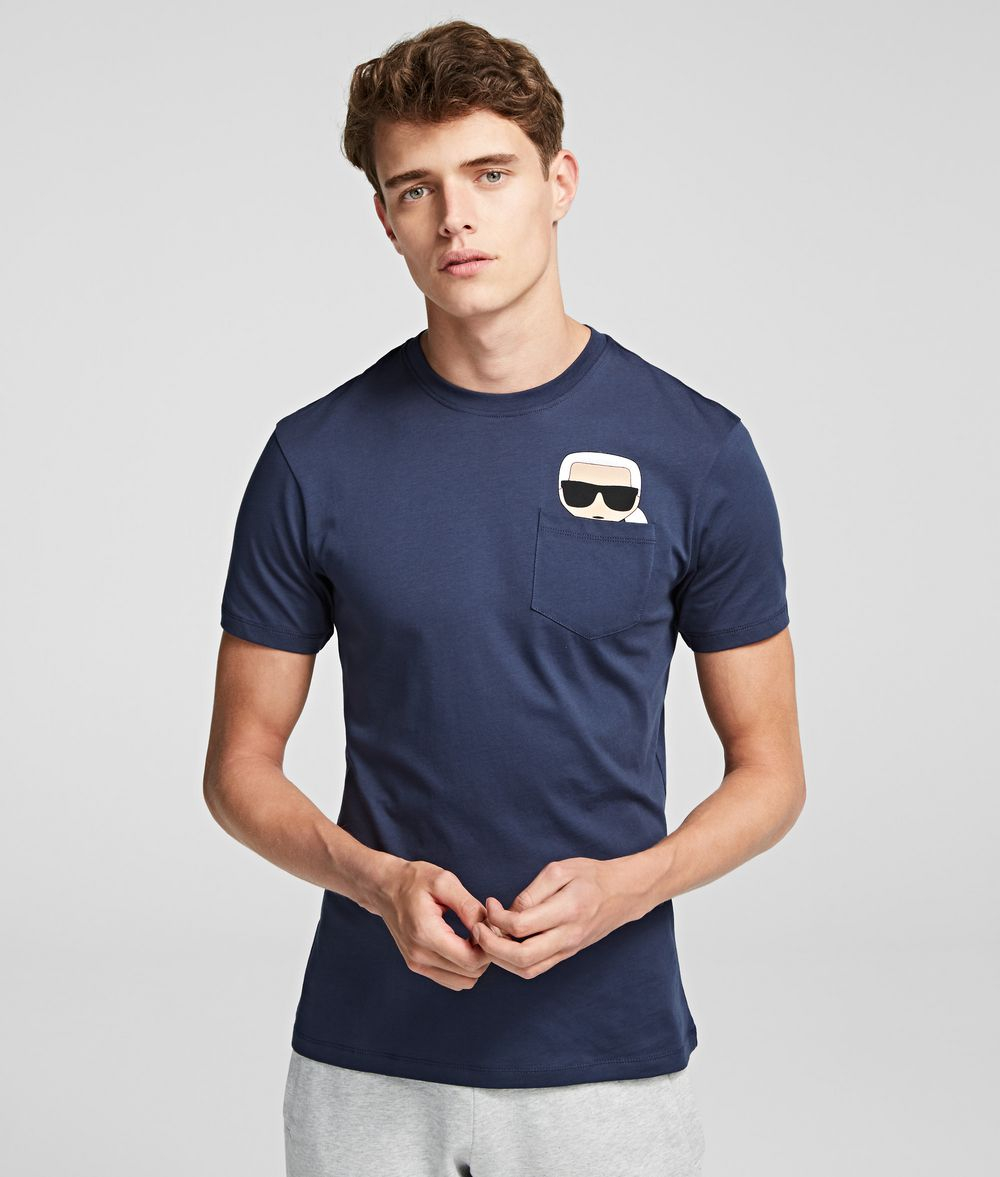 KARL LAGERFELD T-shirt à poche K/Ikonik T-shirt Homme f