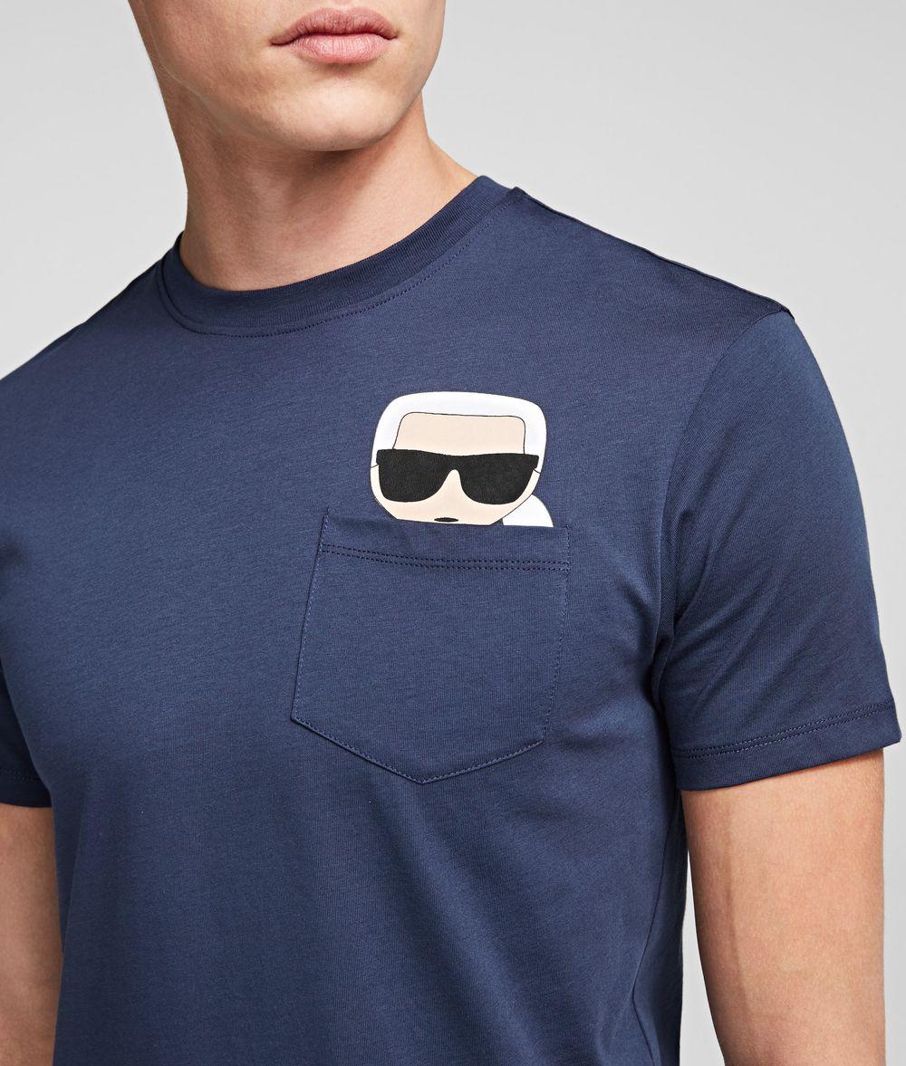 KARL LAGERFELD T-shirt à poche K/Ikonik T-shirt Homme r