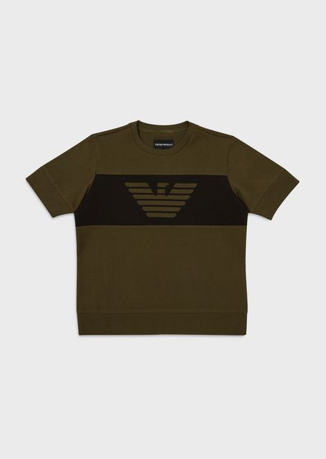 T-shirt with logo band