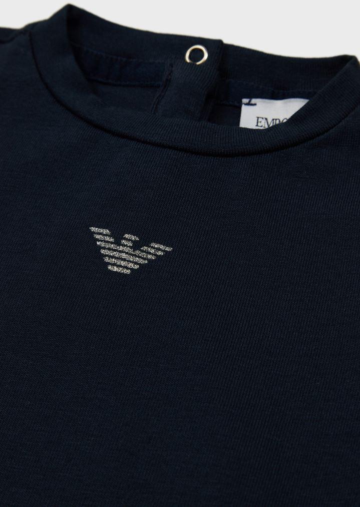 251e7282d3 Jersey T-shirt with glitter logo