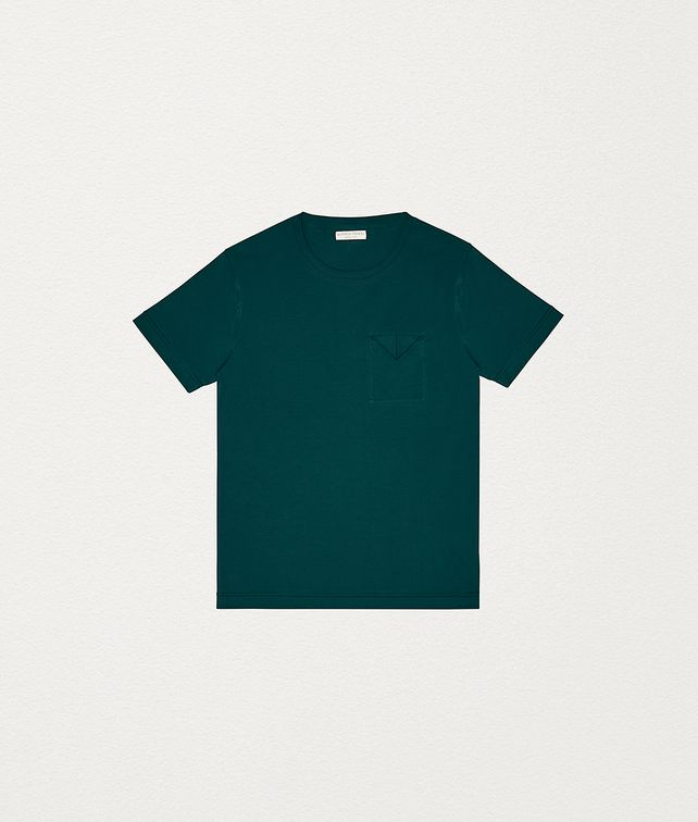 BOTTEGA VENETA T-SHIRT IN COTTON JERSEY T-Shirts and Polos Man fp