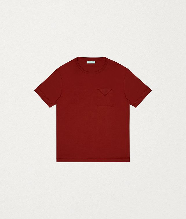 BOTTEGA VENETA T-SHIRT IN COTTON JERSEY T-Shirt and Polo Man fp