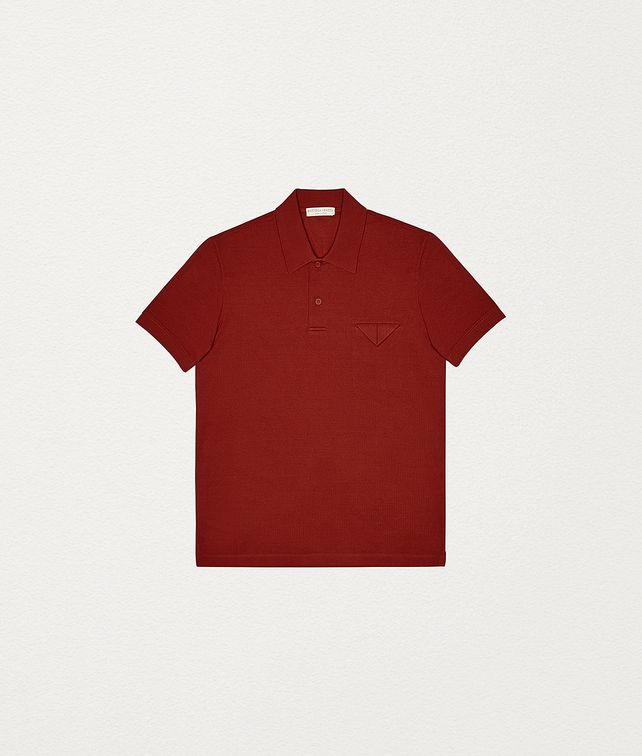 BOTTEGA VENETA POLO IN COTTON PIQUET T-Shirt and Polo Man fp