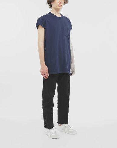 TOPS Décortiqué T-shirt Blue