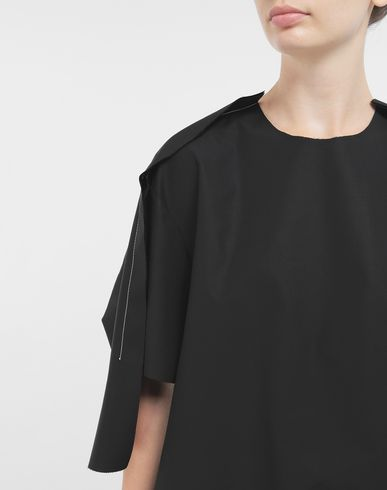 TOPS & TEES Outline blouse Black