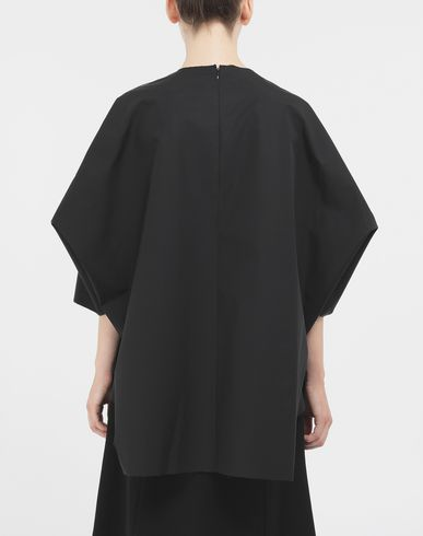 TOPS Outline blouse Black