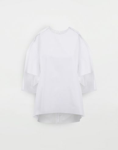 TOPS & TEES Outline blouse White