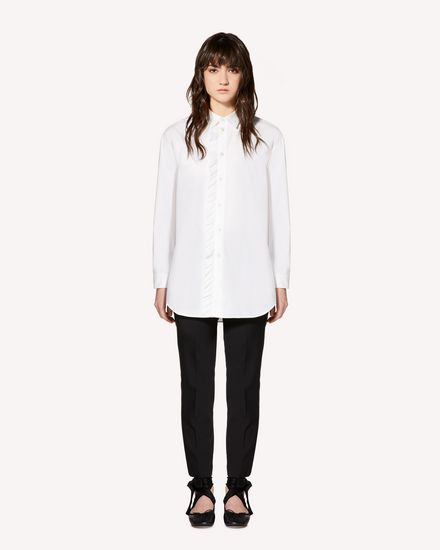 REDValentino Shirt Woman SR0AB1Z00ES 001 f
