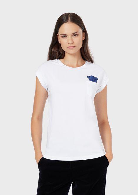 59187d1d02 Women's t Shirts | Emporio Armani