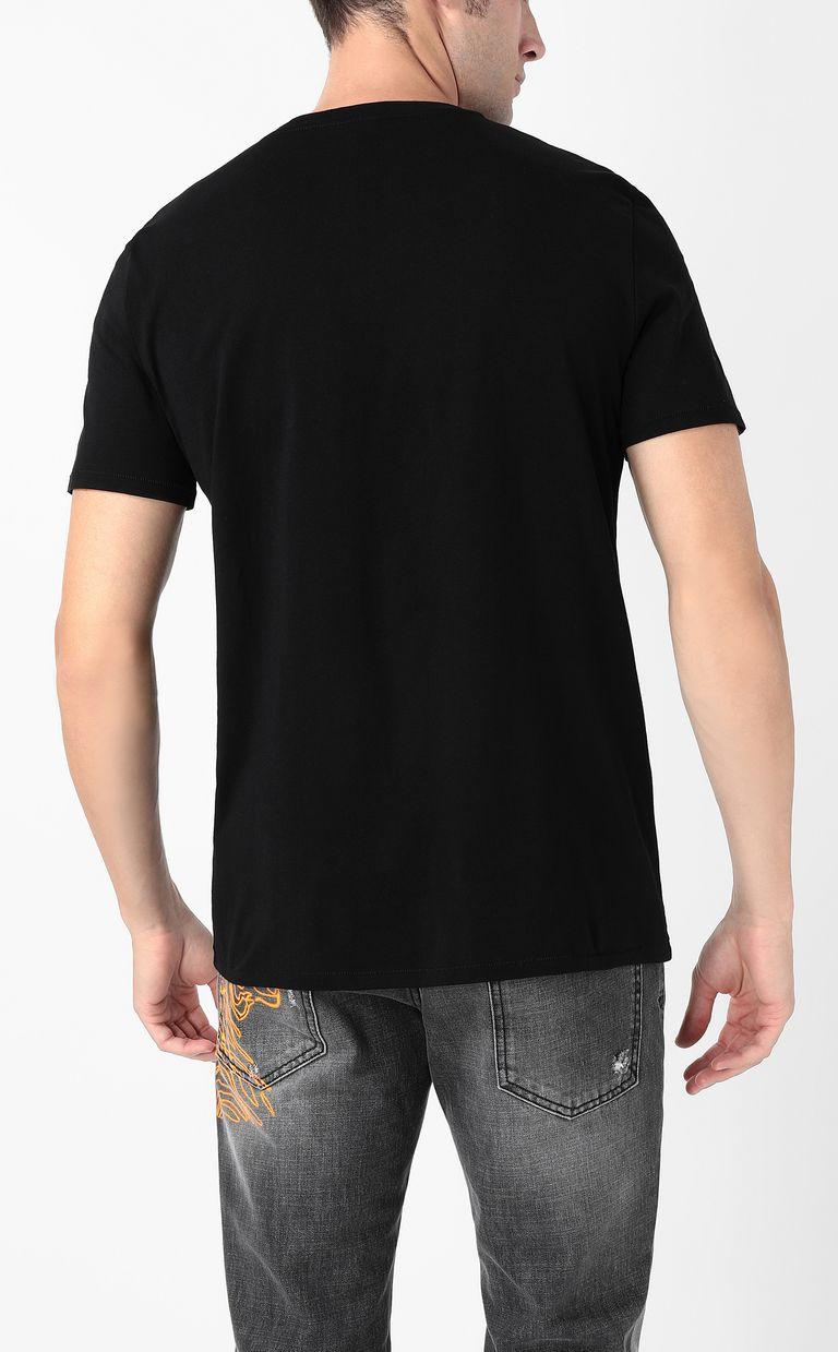 "JUST CAVALLI ""Tiger-Crowd"" print t-shirt Short sleeve t-shirt Man a"