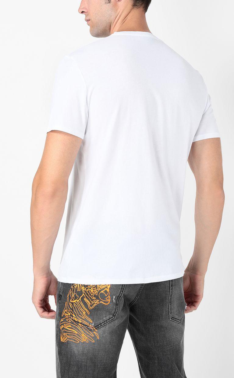 JUST CAVALLI Neon-logo t-shirt Short sleeve t-shirt Man a
