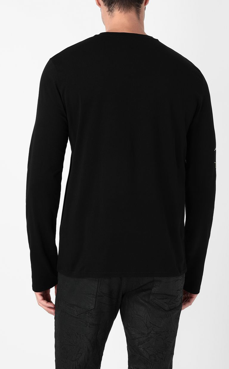 JUST CAVALLI Cheetah t-shirt Long sleeve t-shirt Man a