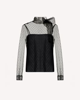 REDValentino Top Woman SR3AE0S13TQ 0AN a