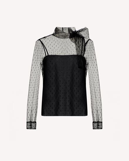 REDValentino Shirt Woman SR0AB1Y01GK 0NO a
