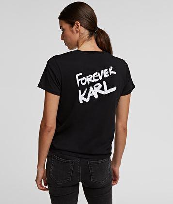 KARL LAGERFELD FOREVER KARL LONG TEE