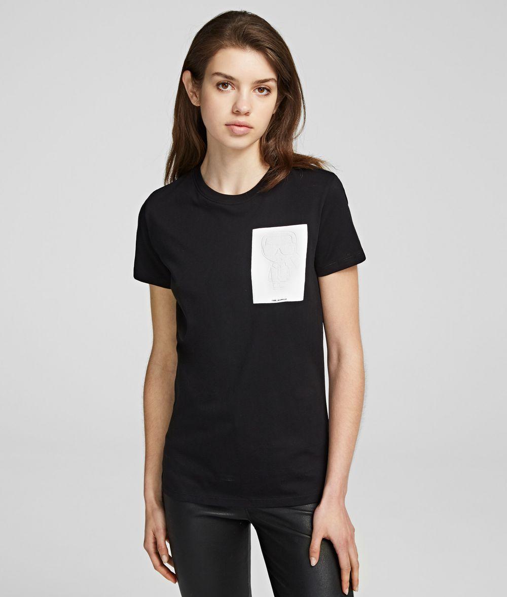 KARL LAGERFELD K/Ikonik T-Shirt T-shirt Woman f