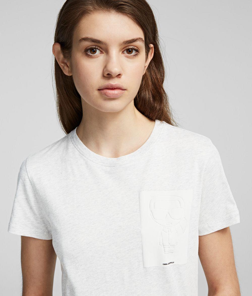 KARL LAGERFELD K/Ikonik Karl T-Shirt T-shirt Woman d