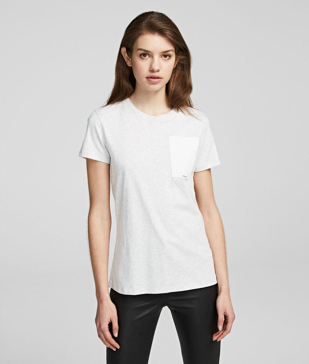 KARL LAGERFELD K/Ikonik Karl T-Shirt T-shirt Woman f