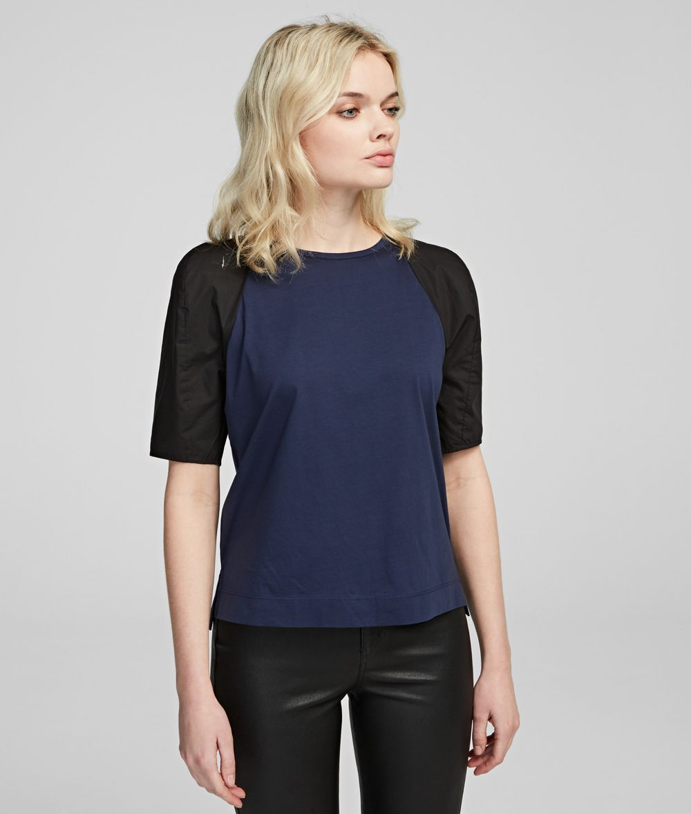 KARL LAGERFELD Volume Sleeve T-Shirt T-shirt Woman f