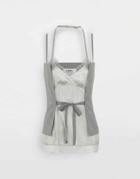 MM6 MAISON MARGIELA Multi-wear satin top Top Woman f