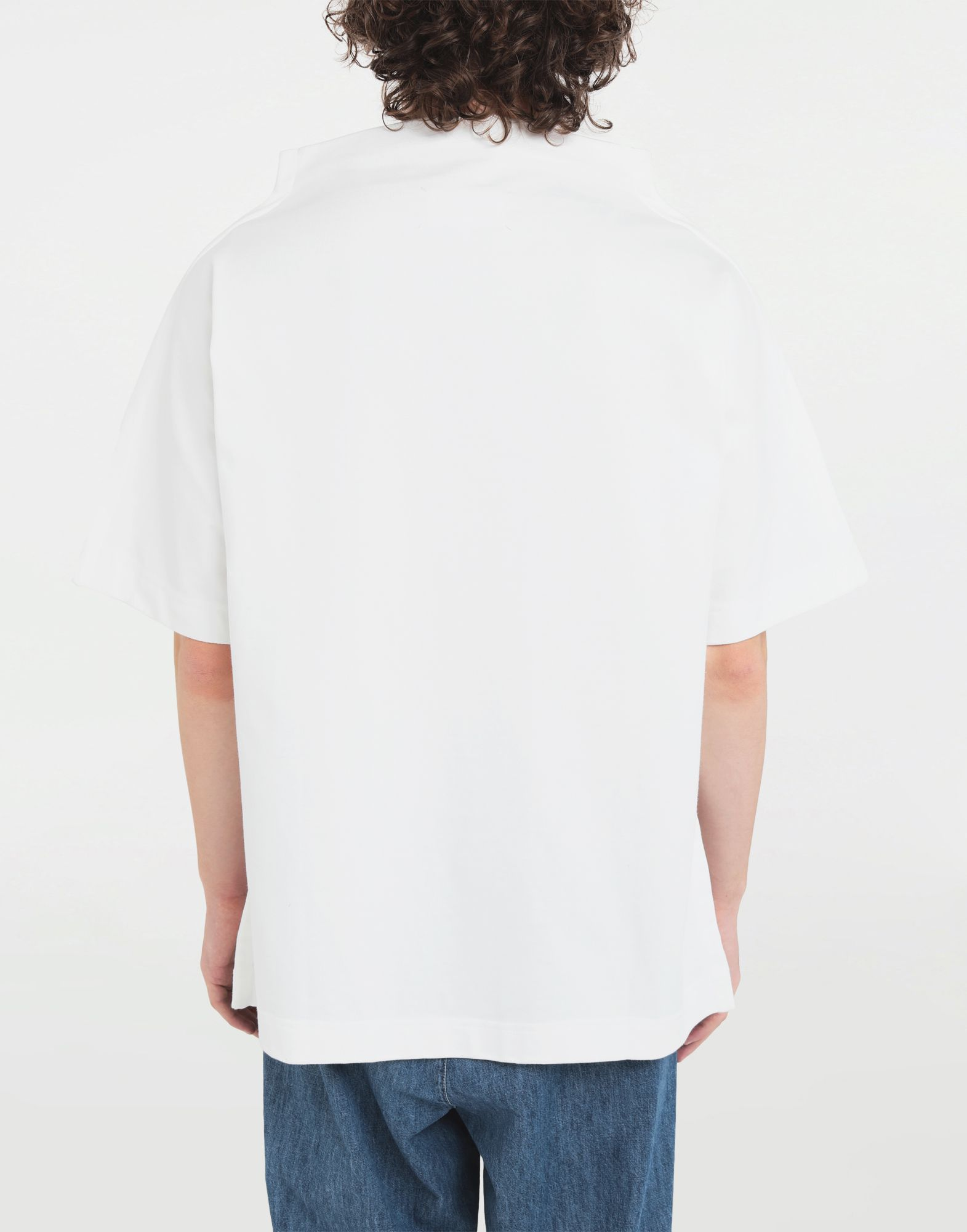 MAISON MARGIELA Funnel neck top Short sleeve t-shirt Man b