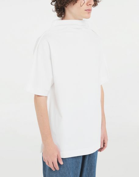 MAISON MARGIELA Funnel neck top Short sleeve t-shirt Man a