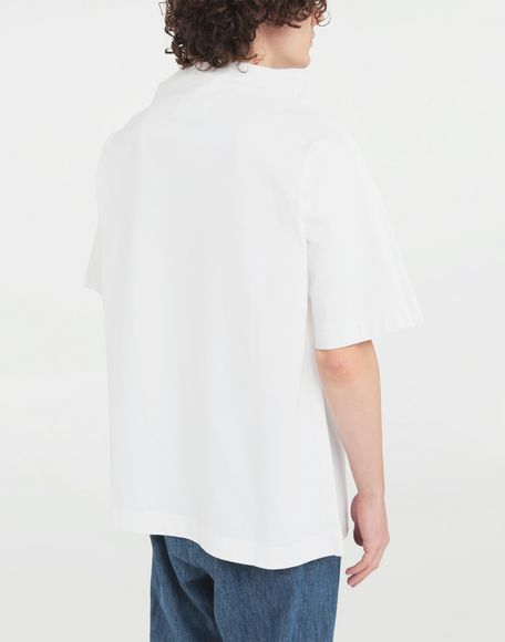 MAISON MARGIELA Funnel neck top Short sleeve t-shirt Man e