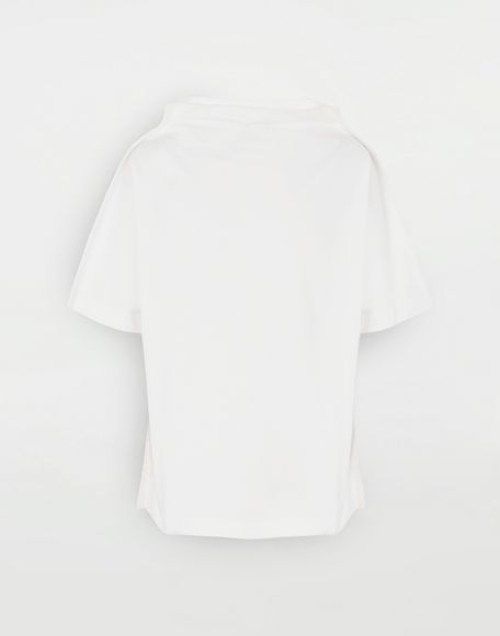 MAISON MARGIELA Funnel neck top Short sleeve t-shirt Man f