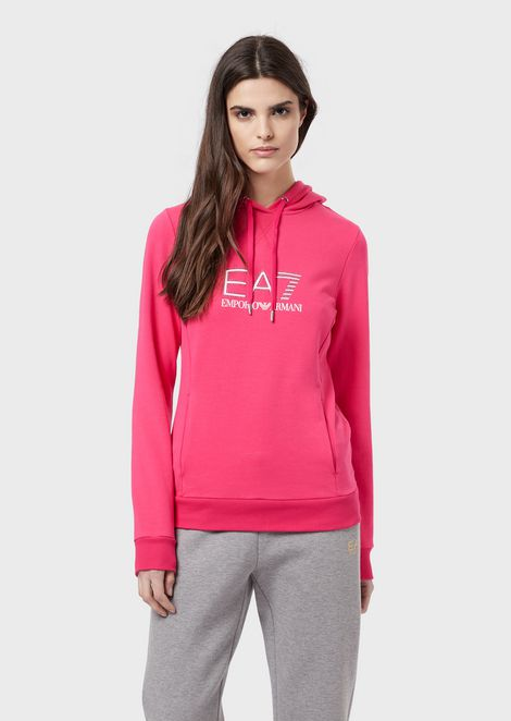 0b673bbdbb EA7 Sportswear Hoodies Women | Emporio Armani