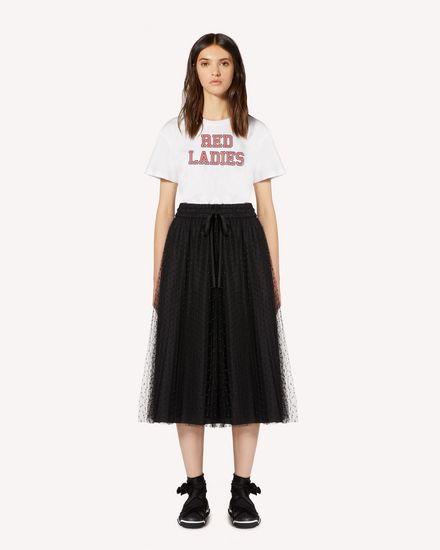 REDValentino T-Shirt Woman SR0MG04D4PQ 001 f