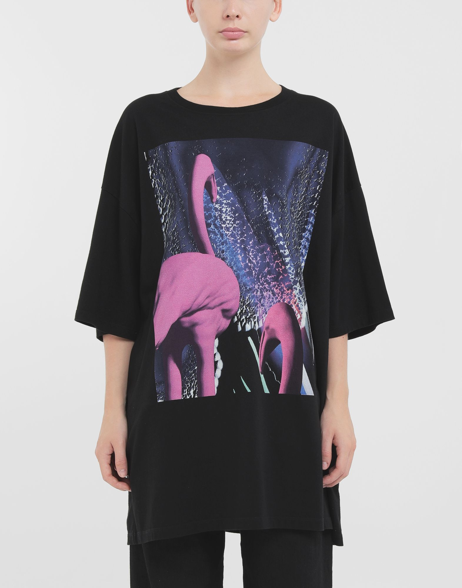 MAISON MARGIELA Flamingo T-shirt Short sleeve t-shirt Woman r