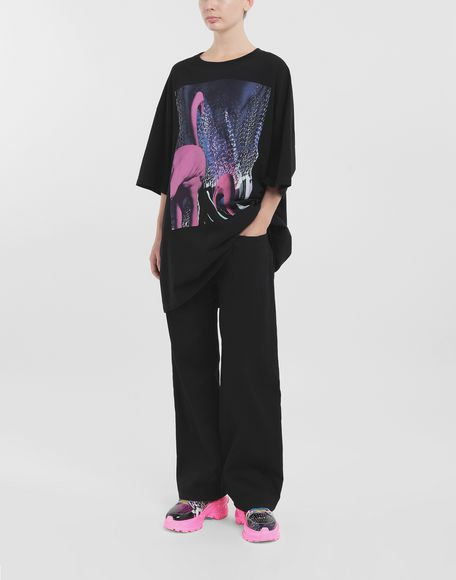 MAISON MARGIELA T-shirt Flamingo T-shirt maniche corte Donna b