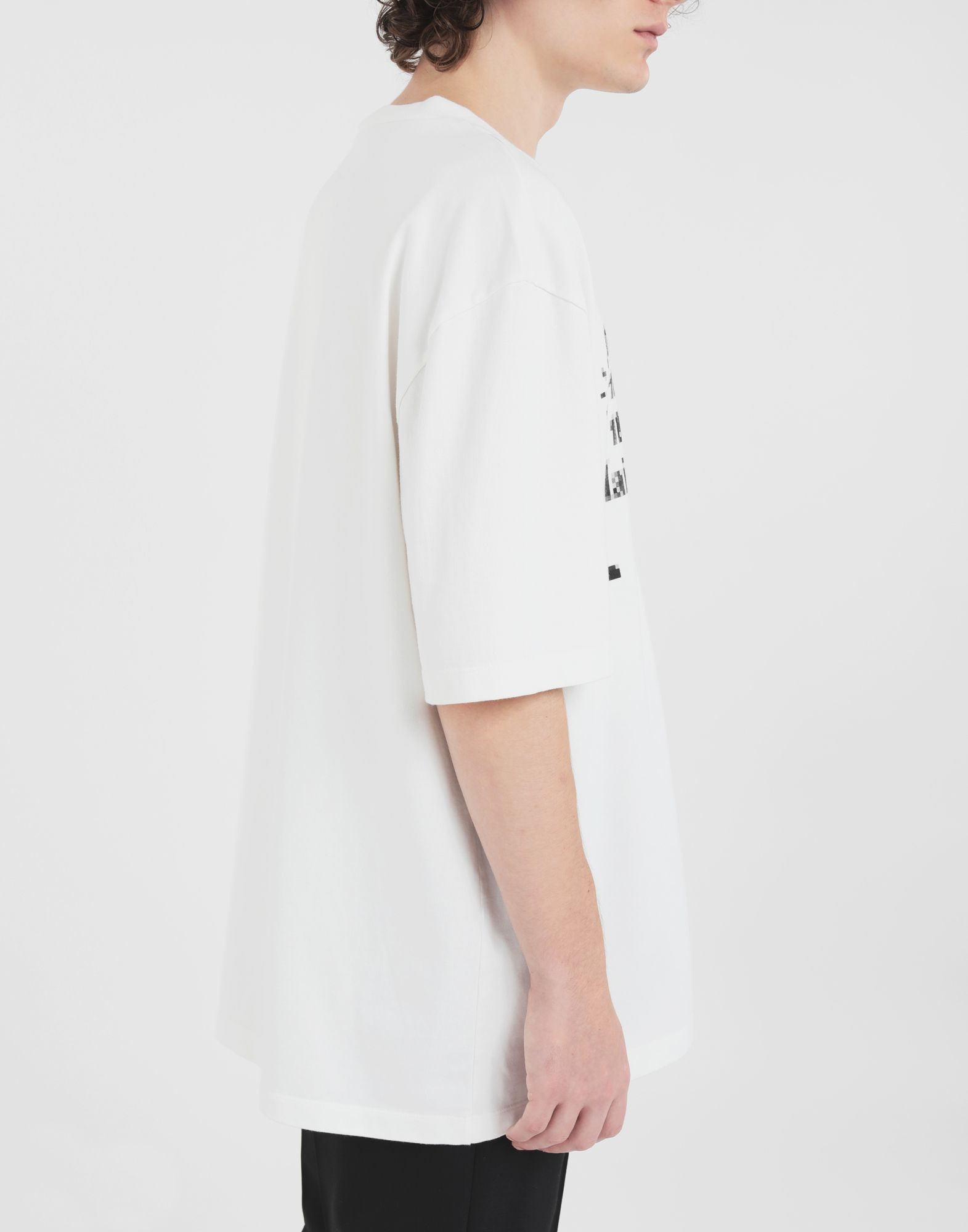 MAISON MARGIELA T-Shirt mit Logo Kurzärmliges T-Shirt Herren b