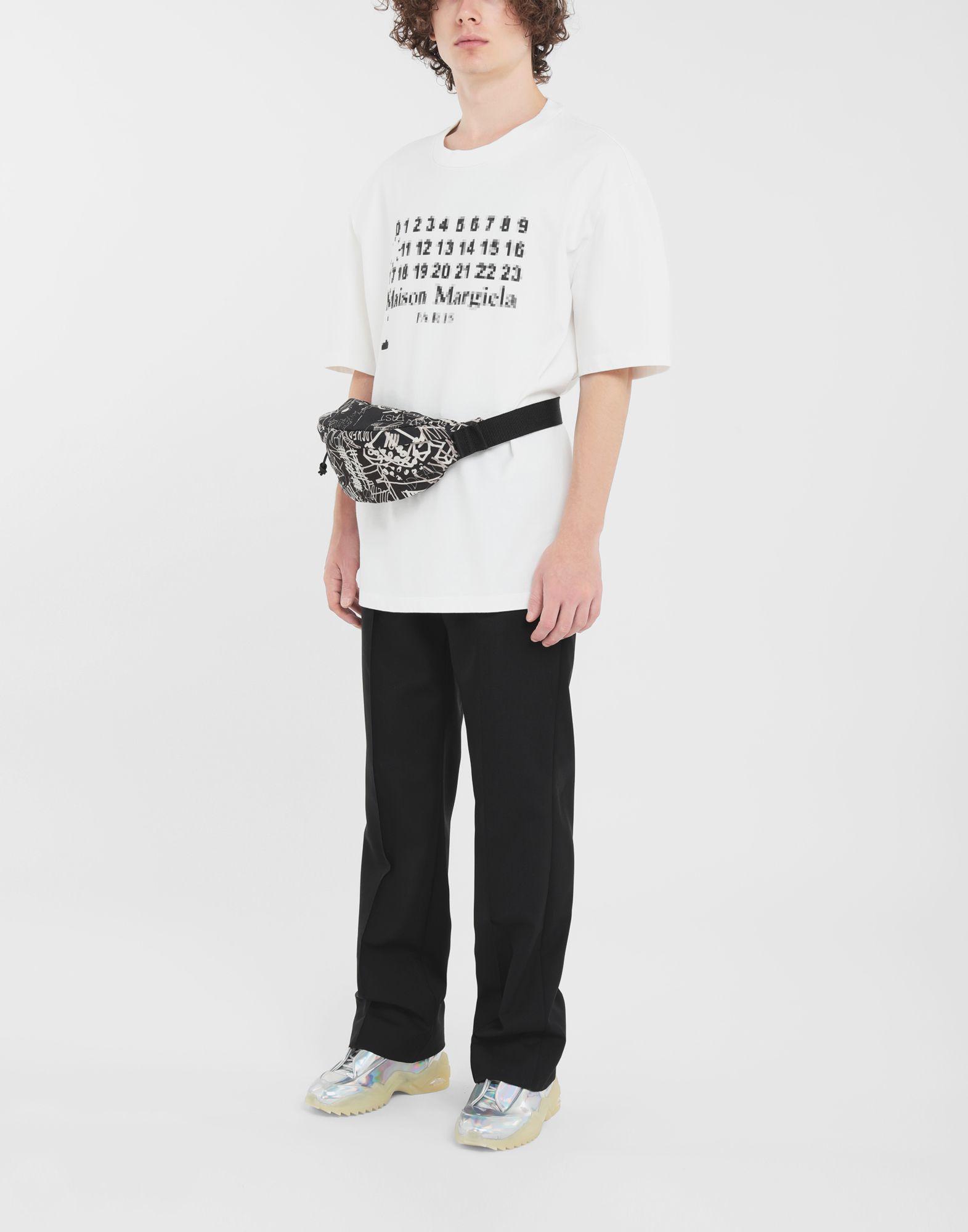 MAISON MARGIELA T-Shirt mit Logo Kurzärmliges T-Shirt Herren d